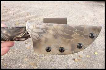 DeDominicis Custom Fixed Blade Kydex Sheath