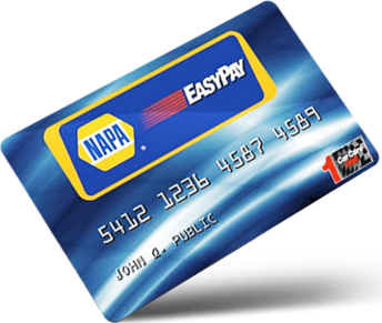 napa care center easy pay card