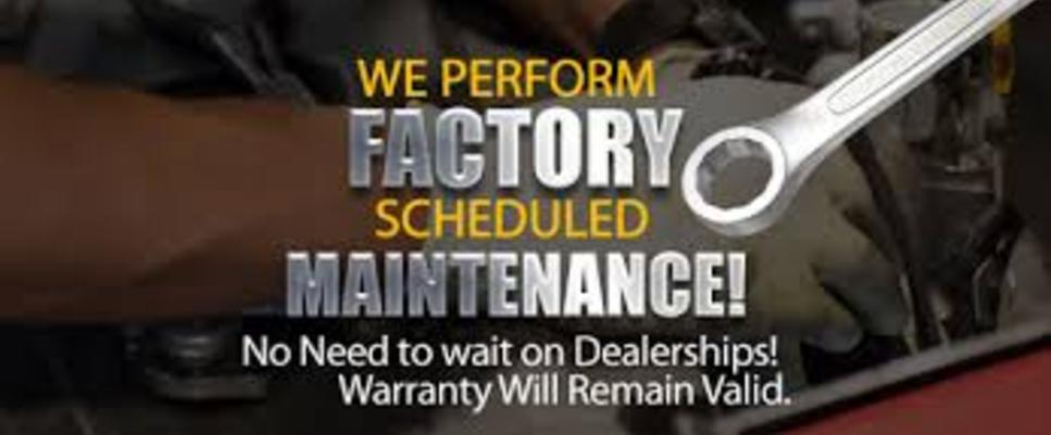 Factory Scheduled Maintenance Services and Cost Factory Repair and Maintenance Services | Aone Mobile Mechanics