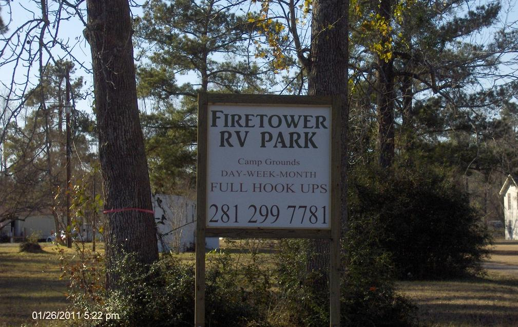 Firetower Rv Park And CaMPGROUNDS