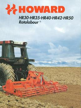 Howard Rotavator Model HR30-HR35-HR40-HR42-HR50 Brochure