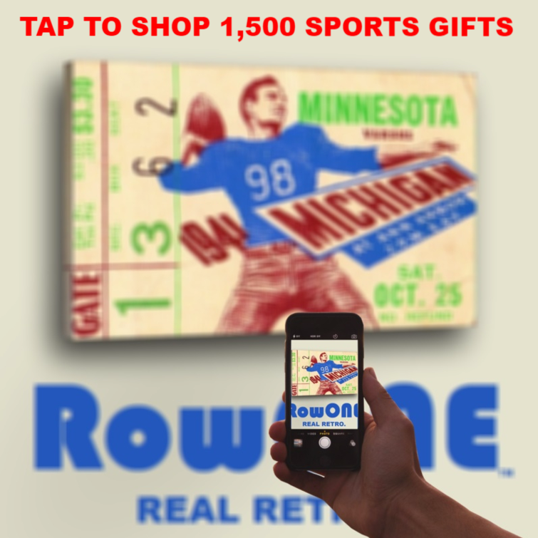 Row One Brand sports ticket gifts