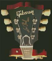 Cross Stitch Chart Pattern of a Gibson Les Paul