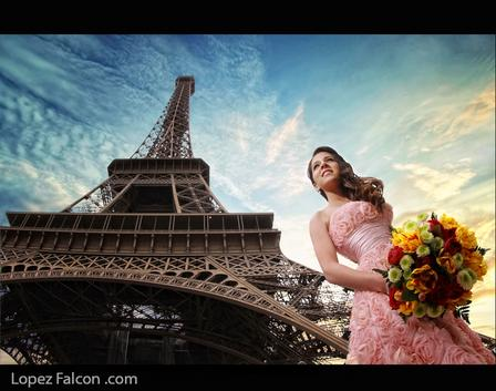 Quinceañera Photo shoot in Paris quinceanera in paris sweet 15 miami Quinces Photography