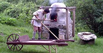 Fort Klock Bread Oven