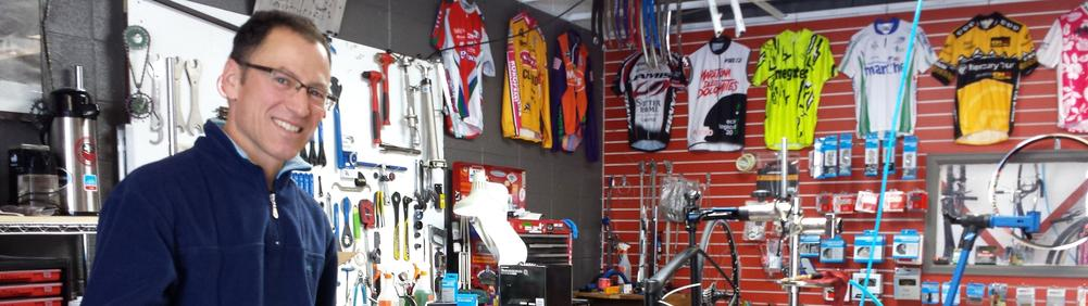 Rider Racer Mechanic Shop owner Brian Hannon