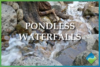 Aquatic Edge Pond & Landscape Solutions - Pondless Waterfalls