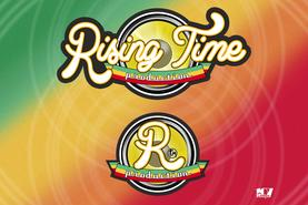 LOGO TIPO REGGAE RISING TIME DESIGN PROJECT DESIGN107