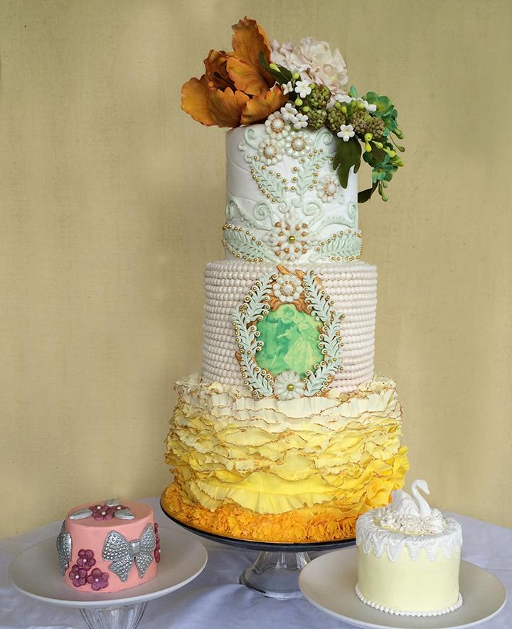 Wedding Cake Pictures - Big Island Wedding Cake