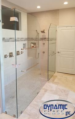 Fixed Panel Shower