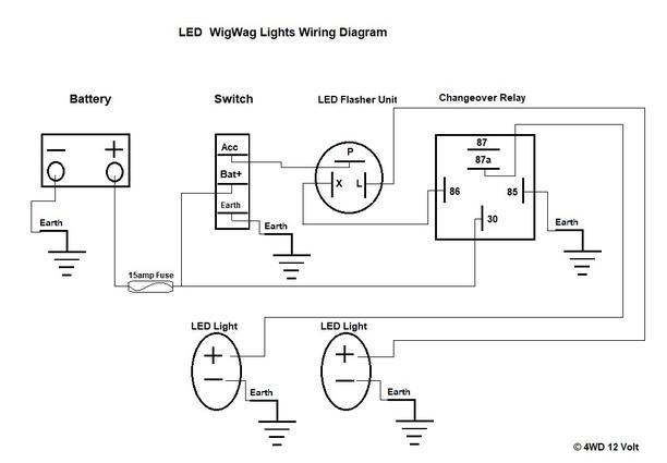 Wig Wag Wiring Diagram Lights -2006 Chevy Hhr Radio Wiring Diagram |  Begeboy Wiring Diagram Source | Wig Wag Flasher Wiring Diagram |  | Begeboy Wiring Diagram Source