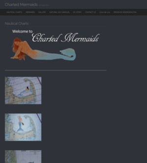 Website Design - Charted Mermaids