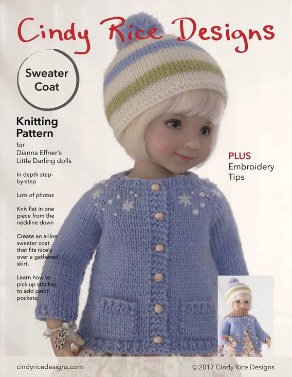 Classic Cardigan Little Darling Knitting Pattern