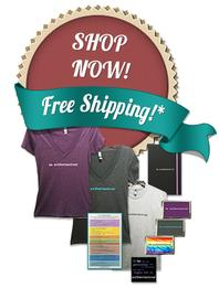 Shop Now for 'be authentacious®' items!