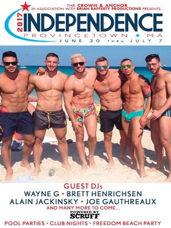 Independance, Provincetown, MA - June 30 - July 07, 2017