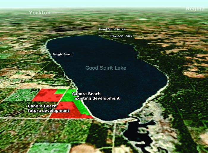 good spirit lake map Canora Beach Directions good spirit lake map