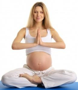 pregnancy yoga in garbh sanskar