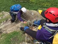 scrambling courses guide in the lake district