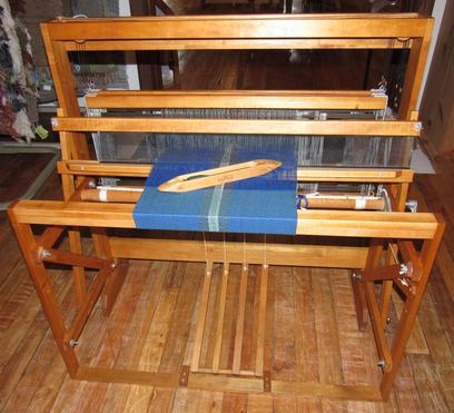 Used Harrisville Designs 4 shaft Direct Tie-up Loom for sale in West MI.