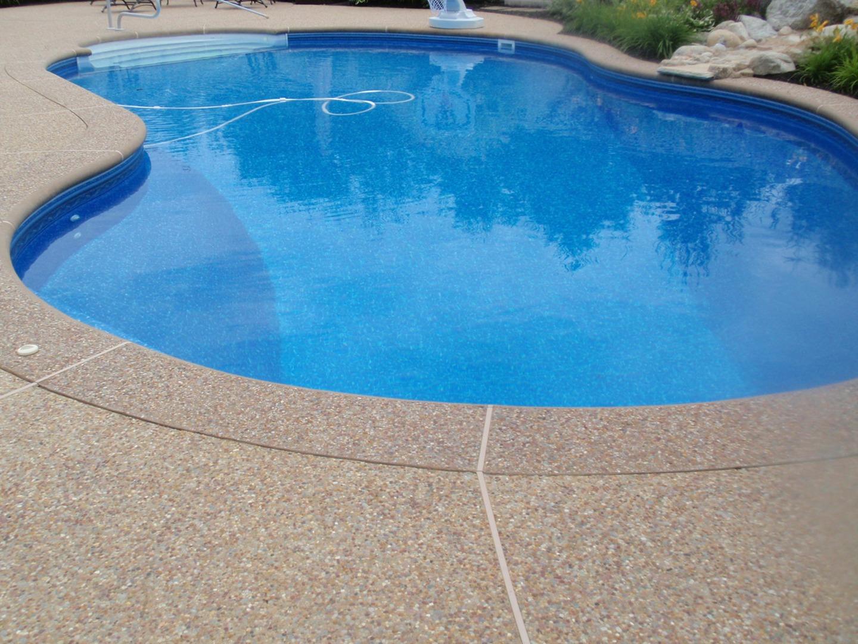 Sealing exposed aggregate pool deck - Stamped Concrete Sealing Pool Deck Maintenance