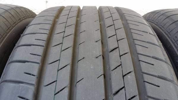image news good torque or bad lexus run tires flat lc