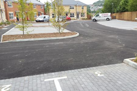 Coombe Valley, Tarmac contractor