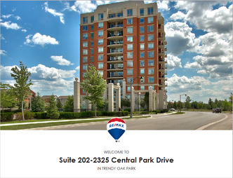 Feature Sheet: 1 Bedroom Suite Condo For Sale at Oak Park - 2325 Central Park Drive Unit 202 - Oakville