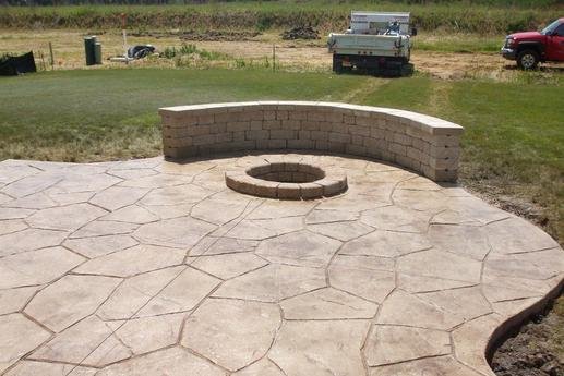Excellent Stamped Concrete Patio Contractor and Pricing in Walton NE| Lincoln Handyman Services