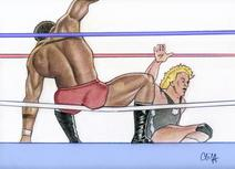 TONY ATLAS vs. KEN PATERA by CLIFF CARSON