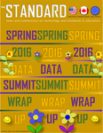THE STANDARD Newsletter SPRING 2016 Data Summit News and Wrap Up