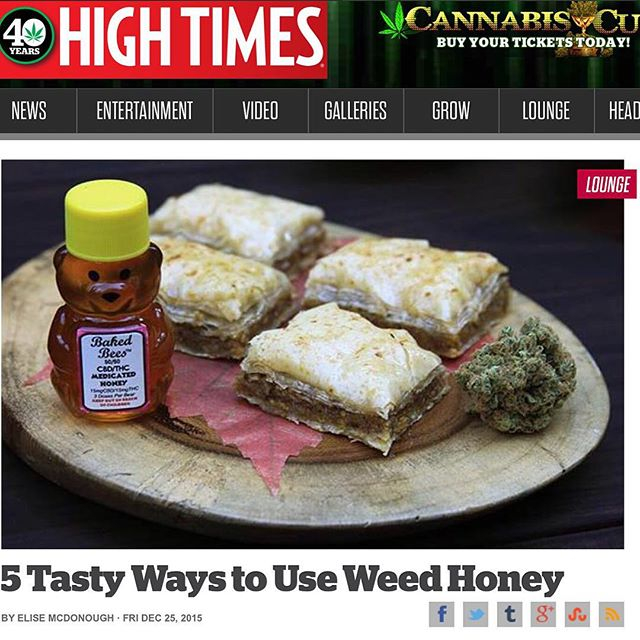 Baked Bees Medicated Honey