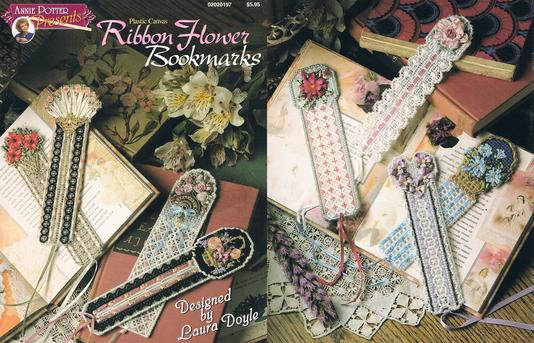 Plastic Canvas Bookmark pattern