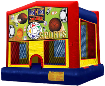 sports bounce house for rental
