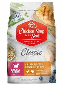 Chicken Soup Small Kibble Dog Food