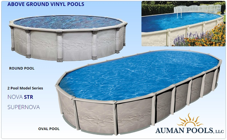 above ground vinyl liner pools