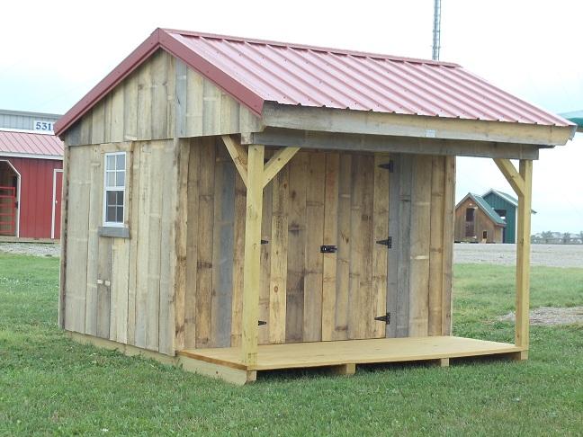 Garden Sheds 8x10 garden sheds - portable barns construction in millersburg ohio