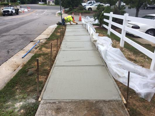 Leading Concrete Sidewalk Replacement Services and Cost in Milford Nebraska | Lincoln Handyman Services