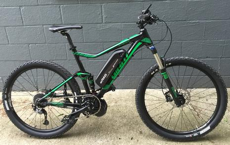 Electric Mountain Bike Full Suspension Lectric Cycles eRad