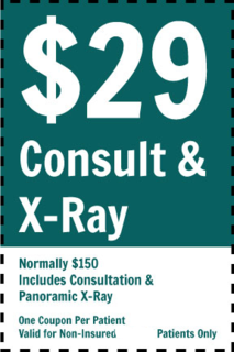 29 Wisdom Teeth Consult Coupon