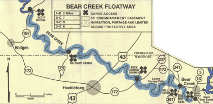 Bear Creek Alabama >> Bear Creek Floatway