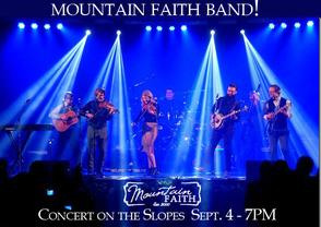 Sapphire Valley Resort, Concert on the Slopes, Mountain Faith Band