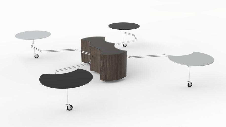 ARAK TABLE TAVOLINO RAGNO SNODATO PRODUCTION INDUSTRIAL DESIGN MODELLAZIONE 3D MODEL RENDERING DESIGN PROJECT DESIGN107