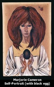 Marjorie Cameron Self Portrait Jack Parsons Girlfriend Babalon Working