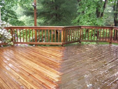 PATIO AND DECK CLEANING SERVICE