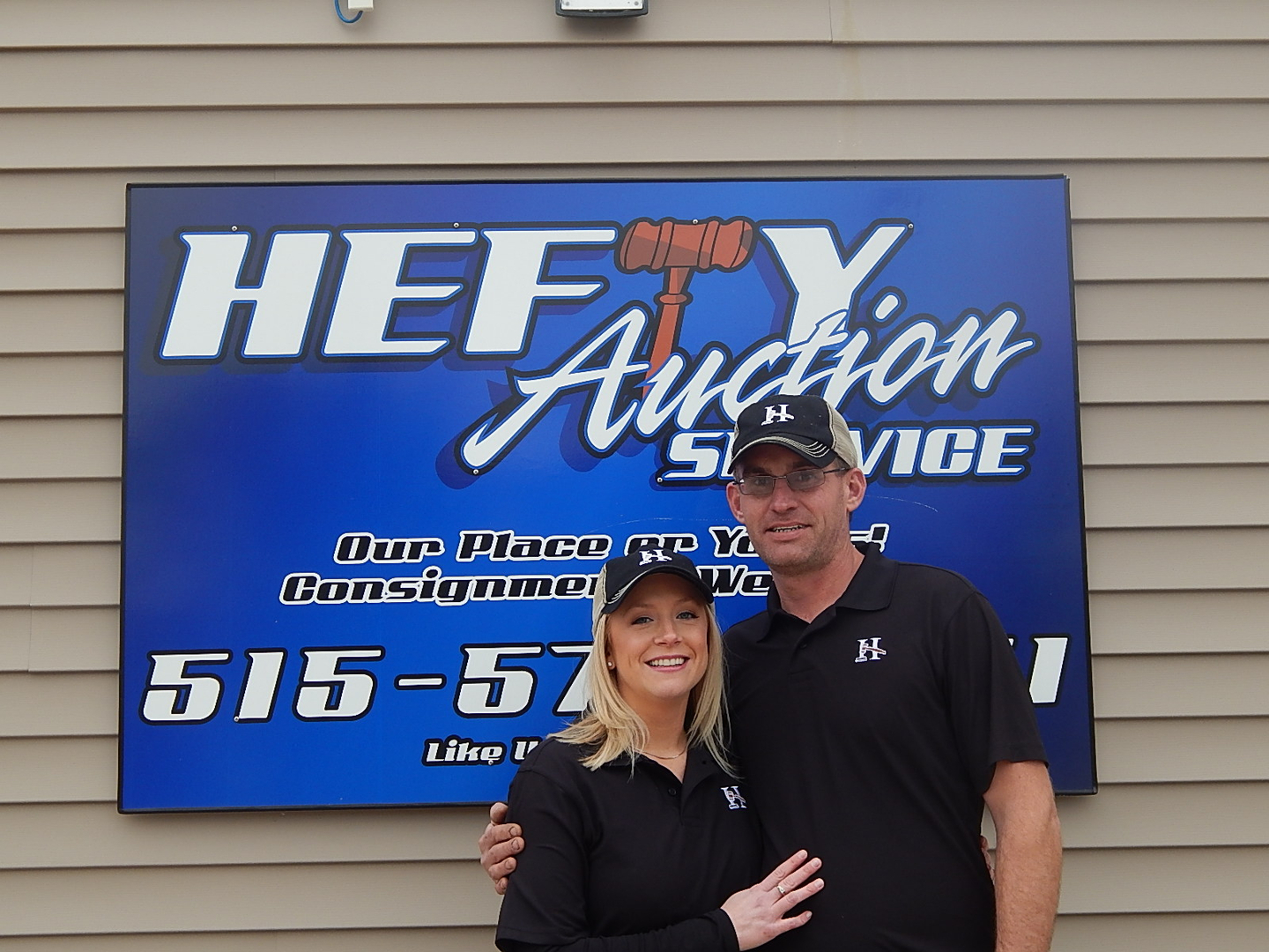 auctioneer hefty auction service www heftyauctionservice com