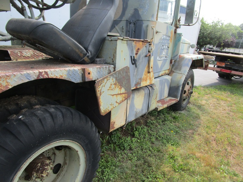 1951 REO M108 Crane Truck