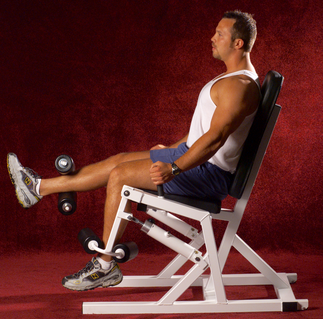 double leg knee hydraulic speed trainer hydra-gym