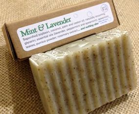 Mint and Lavender Soap