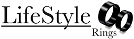 Lifestylerings.com - The Black Rings - Logo