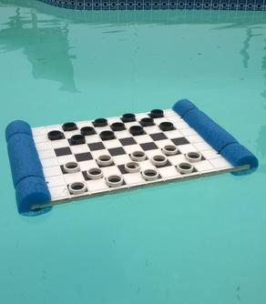 How to make Floating checkers board. www.DIYeasycrafts.com